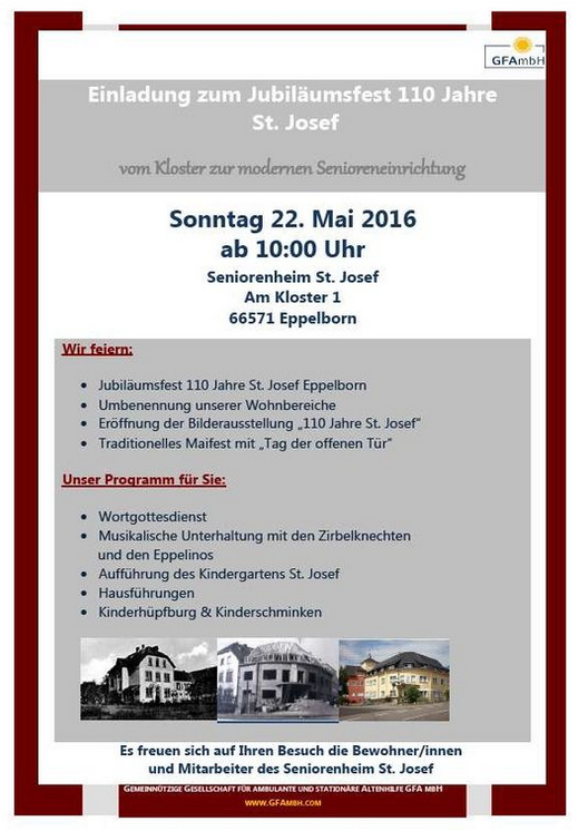 Aktuelles  Förderverein Seniorenzentrum Eppelborn